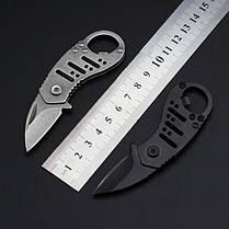 LAOTIE TS555 99 мм 7CR17 Нержавеющая сталь Мини-карманный складной нож На открытом воздухе Выживание Рыбалка Нож для открывания ножей - 1TopShop, фото 2