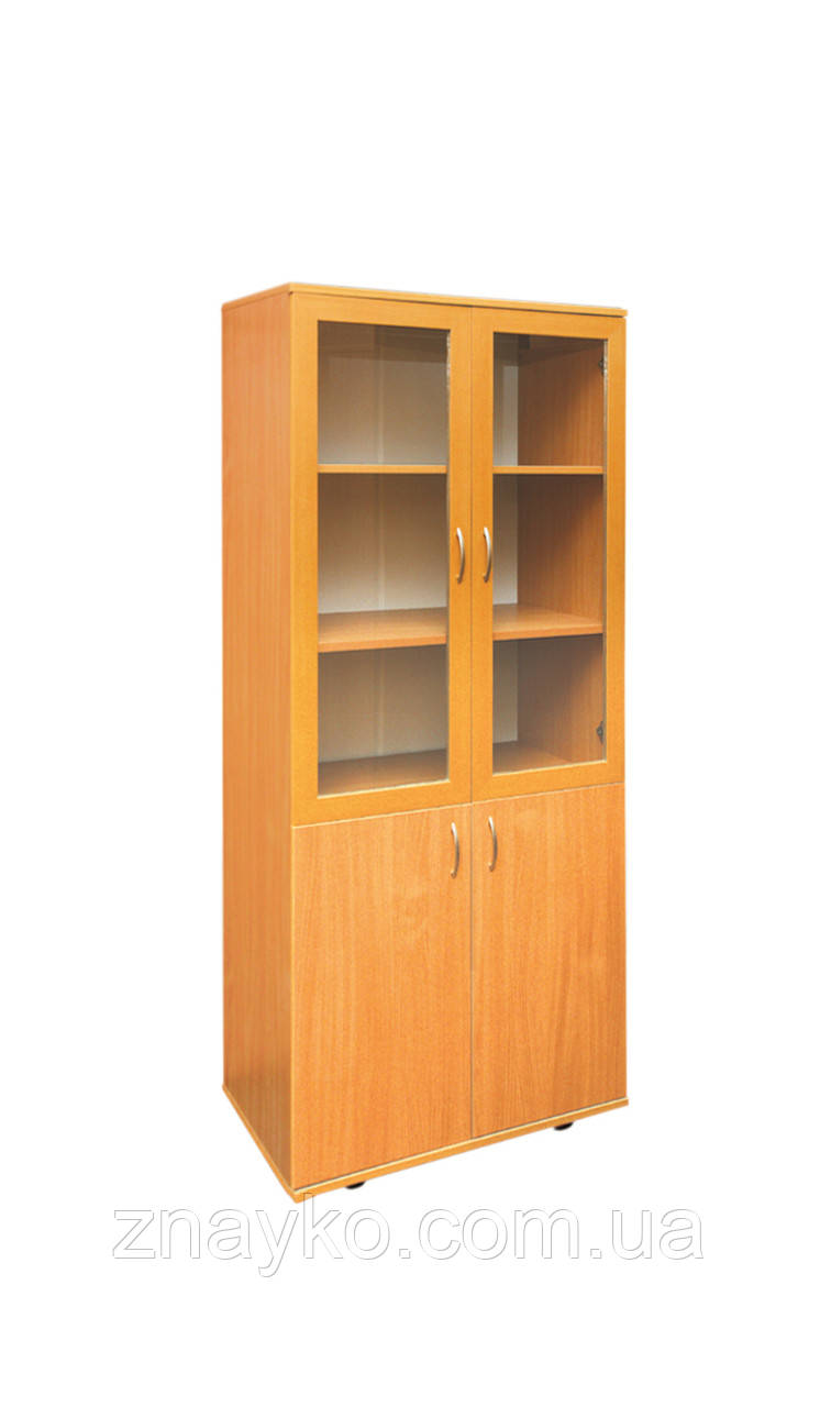 Шкаф для документов со стеклянными дверями - Школярик-Дошколярик в Киеве