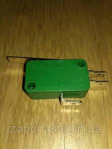 Мікровимикач (кінцевик) 15А, 3 контакта з планкою