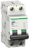 Автоматический выключатель iC60LMA 2P 12,5A MA Schneider Electric (A9F90282), фото 1