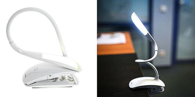 Настольная лампа-прищепка Remax Milk LED