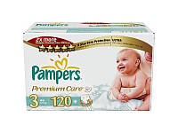 Подгузники Pampers Premium Care 3 Midi (4-9кг) 120шт