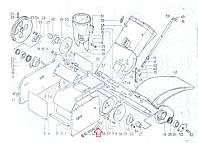 Болт натяжной (триммер)  ЗА 03.130