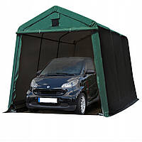 Павильон гаражный 2,4x3,6 м ПВХ 500 г/м² (Зеленый), фото 1