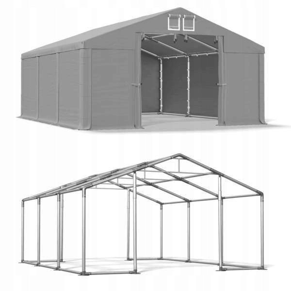 Павильон свадебный, торговый, гаражный 4x6 м ПВХ 560 г/м²