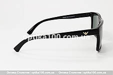 Солнцезащитные очки ДЛЯ ЗРЕНИЯ c диоптриями в стиле Armani, фото 3