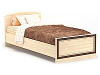 Дисней кровать односпальная 90 (Мебель-Сервис)  дуб светлый 2064х976х755мм