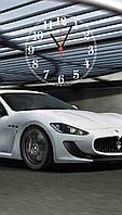 """Часы настенные стеклянные """"Maserati"""", фото 1"""