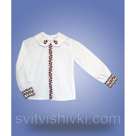 """Рубашка для девочки""""Школярочка"""", фото 2"""
