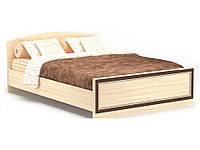Дисней кровать двухспальная 1400 (Мебель-Сервис)  дуб светлый 2064х1476х785мм