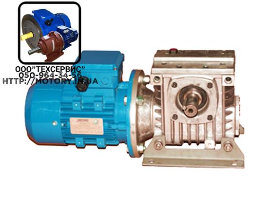 Мотор-редукторы червячные МЧ-63-35,5 об/мин с электродвигателем 0,55 кВт, фото 2