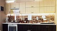 Кухня с гладкими фасадами МДФ 3,0 м