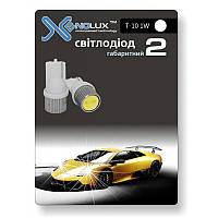 EasyGo LED EasyGo T10-1W (2шт) радиатор белый