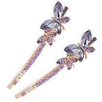 Sweet Crystal Butterfly Hairclip Fashion Head Аксессуары для волос Женское Подарок - 1TopShop, фото 3