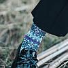 Женское Этническая дышащая хлопковая этническая жаккардовая середина Трубка Носки - 1TopShop, фото 4