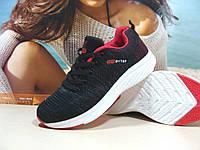 Женские кроссовки Ditof Neo черно-красные 37 р., фото 1