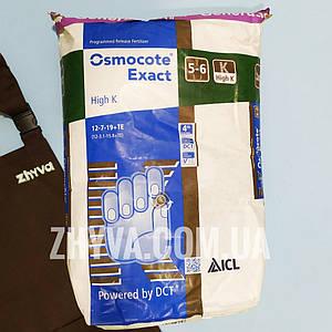Osmocote Exact High K (12-7-19+TE) 5-6 міс. 25 кг /4-те поколение/ (Осмокот)