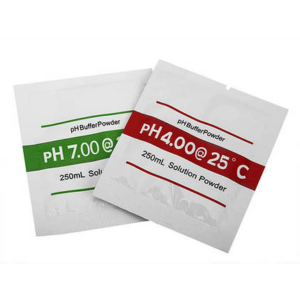2bags ph4.00 ph7.00 порошок буфер для рН тест калибровочного раствора мера метр - 1TopShop, фото 2
