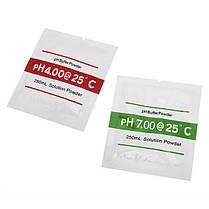 2bags ph4.00 ph7.00 порошок буфер для рН тест калибровочного раствора мера метр - 1TopShop, фото 3