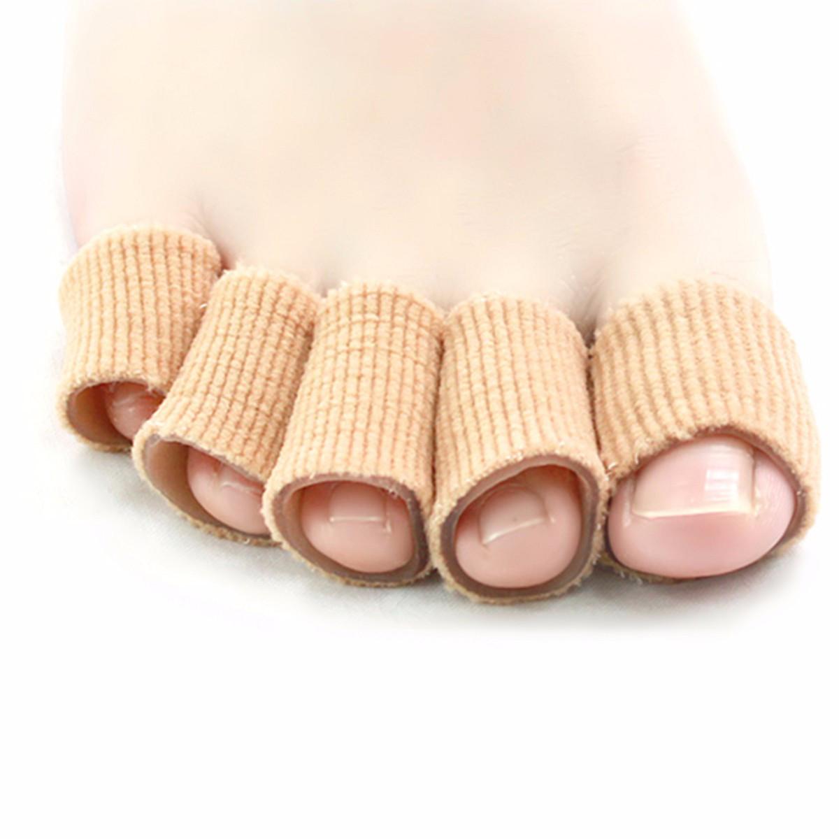 Squishies Гель Трубка Toe Finger Bandage Cuttable Cover Cap Protector для кожи Сухие кукурузы Волдыри для облегчения боли - 1TopShop