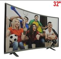 "Телевизор COMER 32"" Smart E32DU1000 Изогнутый, Телевизор андроид, Изогнутый Smart телевизор"