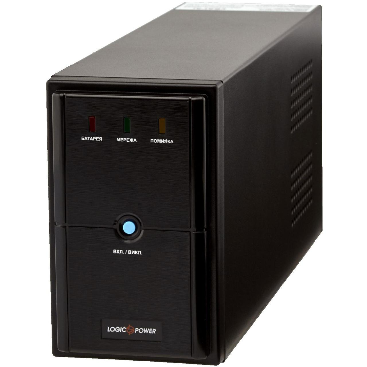 ИБП LogicPower LPM-1100VA, Lin.int., AVR, 3 x евро, металл
