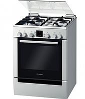Газовая плита Bosch HGV 745253 L (60 см,электрическая духовка,нержавеющая сталь)