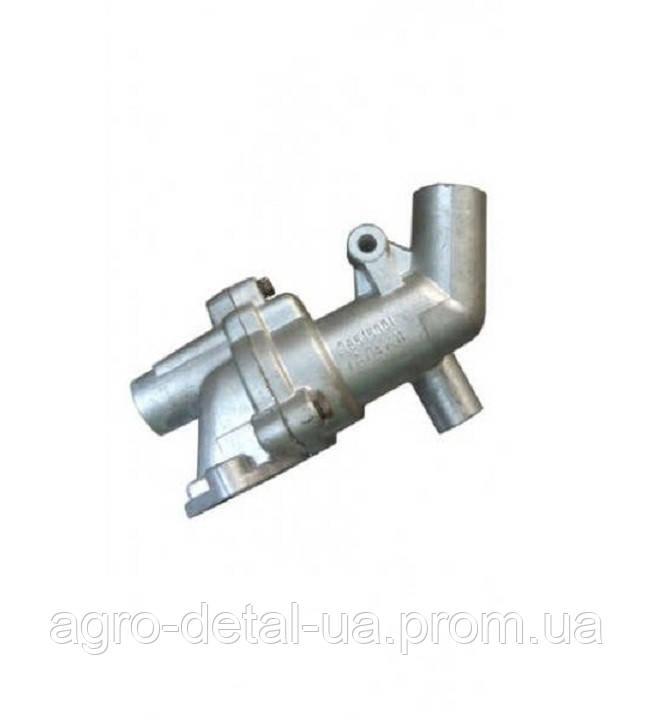Корпус термостата Д65-15-001-А в сборе двигателя Д 65 трактора ЮМЗ 6