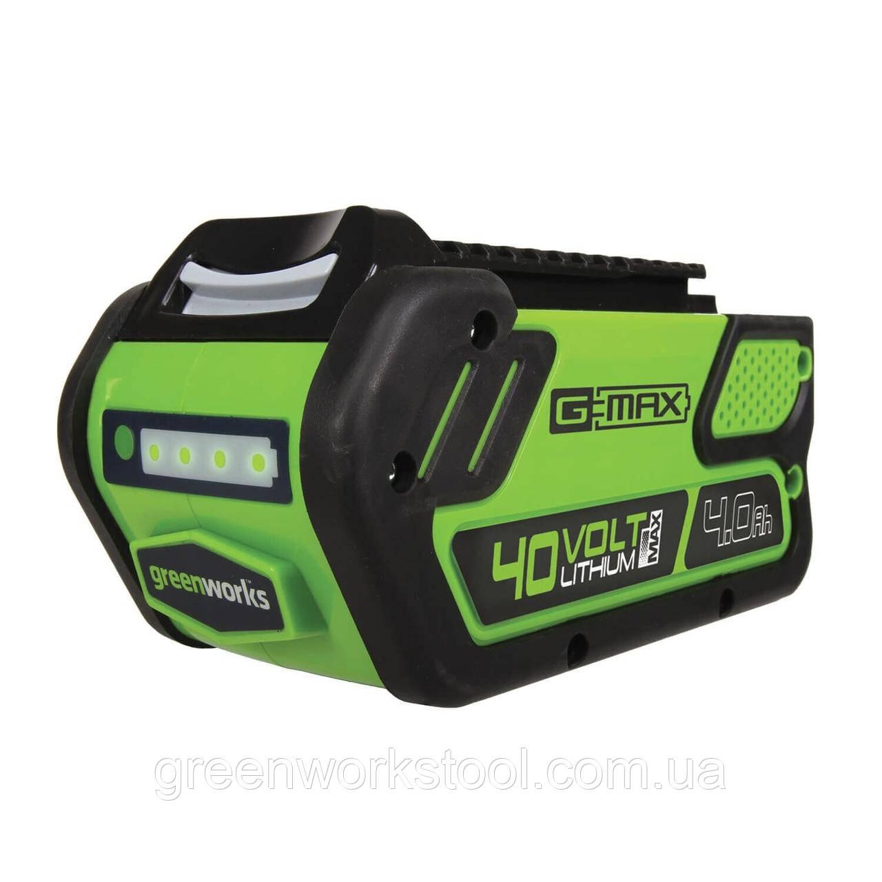 Аккумуляторы  Greenworks G MAX G40B4 40 V