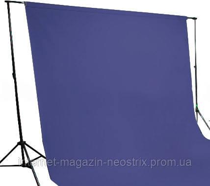 Студийный бумажный фон The BD Company 1,35х11 м (синий) 136 FOTO BLUE