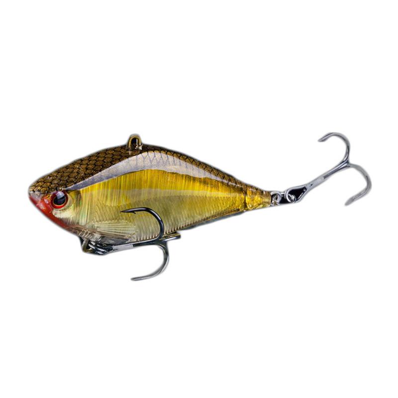 Bobing1pc14g6.3cmЛазерОтражающий VIB Рыбалка Приманка с крючками # 8 Лодка Beanch Рыбалка Lure - 1TopShop
