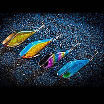Bobing1pc14g6.3cmЛазерОтражающий VIB Рыбалка Приманка с крючками # 8 Лодка Beanch Рыбалка Lure - 1TopShop, фото 2
