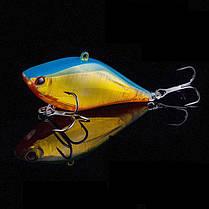 Bobing1pc14g6.3cmЛазерОтражающий VIB Рыбалка Приманка с крючками # 8 Лодка Beanch Рыбалка Lure - 1TopShop, фото 3