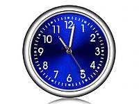 Автомобильные часы Elegant Кварцывые часы в авто Синий цыферблат