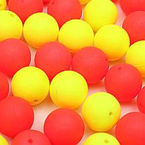 ZANLURE 30Pcs 12мм Круглый Снасти Flavor фидера шариков Плавающие рыболовную приманку Карп Приманки - 1TopShop, фото 2