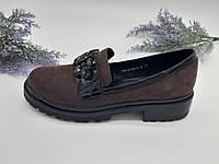 Туфли на низком ходу Aimeni фиолетовый 254-4/1 замша 36(р)
