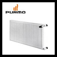Стальной радиатор Purmo Compact  11 тип 400 х 400 Боковое подключение  (379 Вт)