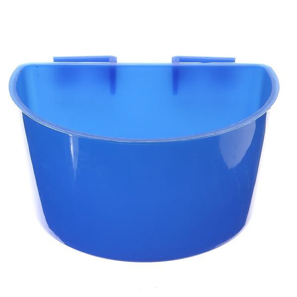 1PCS Синий висящий податчик воды Кейдж чашки Животные Пищевые миски Чашка для домашних животных - 1TopShop