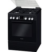 Газовая плита Bosch HGV 745263 L (60 см,электрическая духовка, черная)
