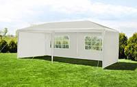 Павільйон торговий садовий 3x6 м Намет Павільон 18м² Шатер Палатка Торгова будка альтанка , білий