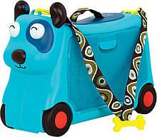 Детский чемодан-каталка для путешествий Песик-Турист Battat