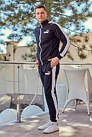 Мужской спортивный костюм Puma(Черный)