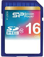 КАРТА ПАМЯТИ SILICON POWER SDHC 16 GB CLASS 10