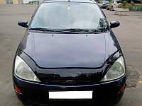 Дефлектор капота (мухобойка) Ford Focus 1998-2005 /длинный Код:73444822