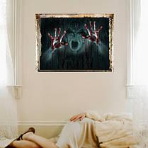 УжасстенынаклейкиИскусствоГлавнаяДекоративные Хэллоуин стены стикер девушка Ghost сломанной стены наклейки - 1TopShop, фото 3