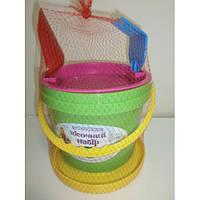 Детский набор для песочницы (5 предметов) Юника