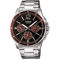 Чоловічий годинник Casio MTP-1374D-5A, фото 1