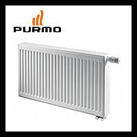 Стальной радиатор Purmo Compact Ventil 11 тип 900 х 1200 Нижнее подключение  (2311 Вт)