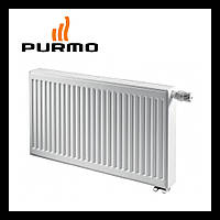 Стальной радиатор Purmo Compact Ventil 22 тип 500 х 2600 Нижнее подключение  ( 5018 Вт)