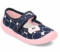 Тапочки для девочки viggami (польша) с кожаными стельками 29р (18,0см), фото 1